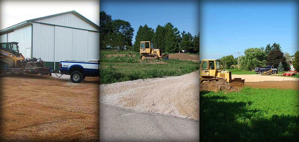 Brinkmann Construction donating time to help prepare soil for Future Farmers of America