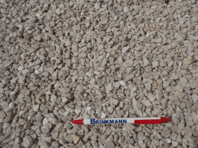 "3/8"" Crushed Limestone Chips"