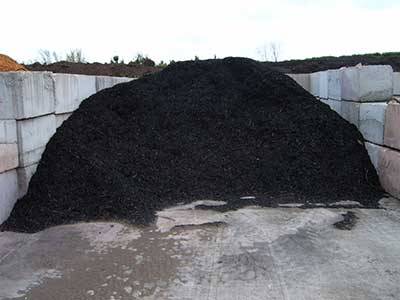 Second Harvest® Black Mulch