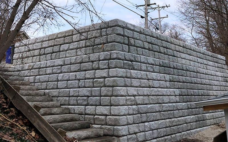 ready rock retaining wall